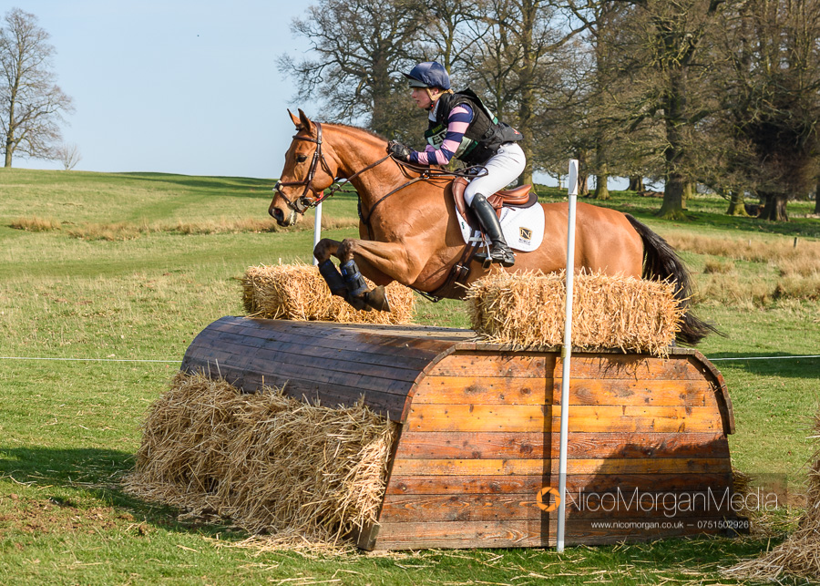 Greta Mason and COOLEY FOR SURE. Belton International Horse Trials, Saturday 30 March 2019 © 2019 Nico Morgan. All Rights Reserved