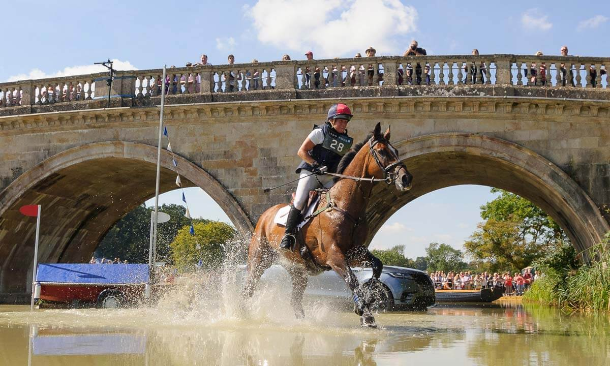 Rebecca Gibbs and DE BEERS DILLETANTE at Burghley