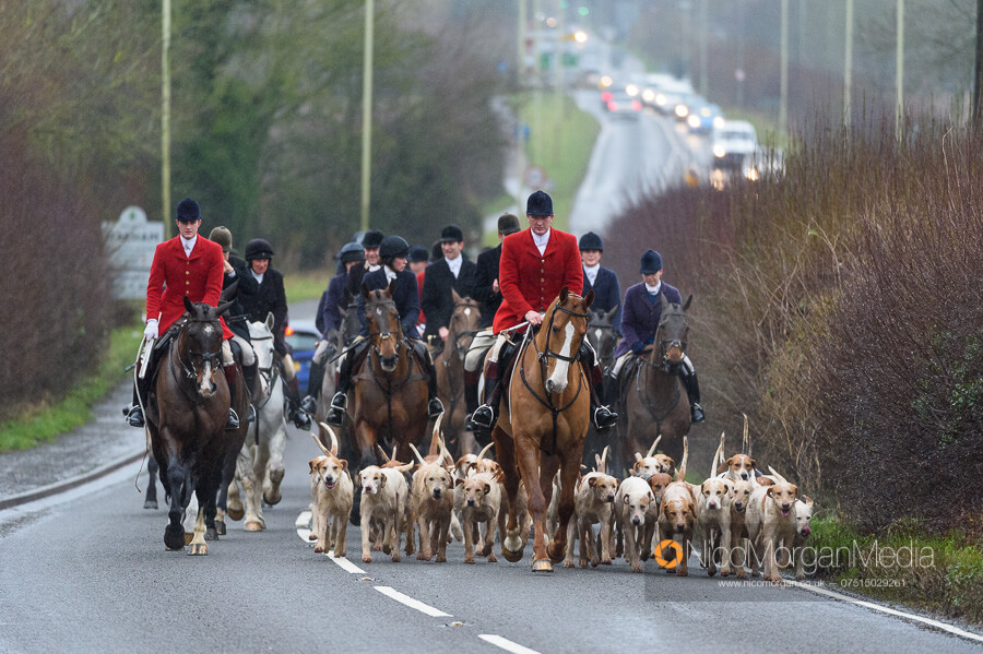 Cottesmore Hunt Boxing Day 26Dec19 088 - The Cottesmore Hunt Boxing Day meet in Oakham