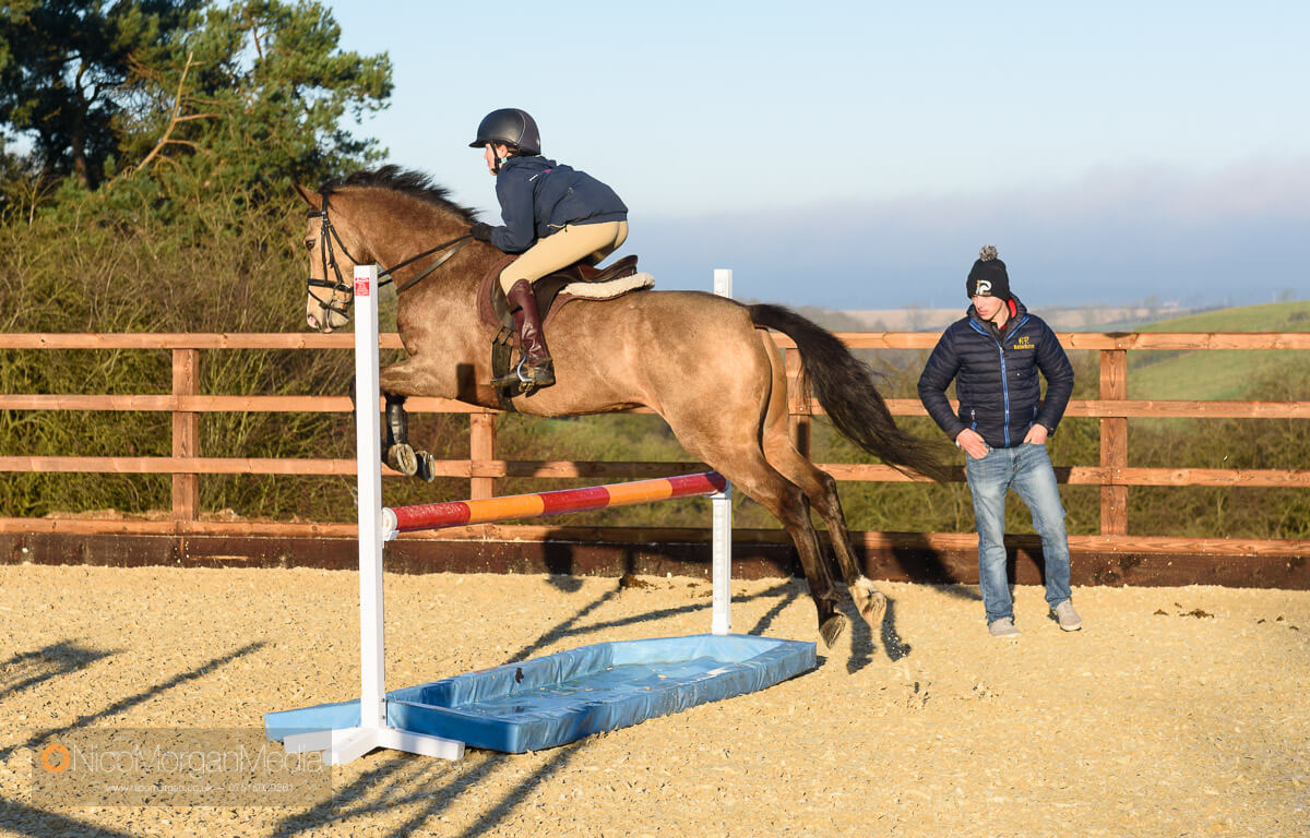 Cathal Daniels clinic at Hyde Lodge horses