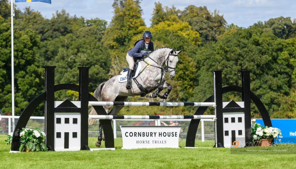 Zara Tindall and CLASICALS EURO STAR at Cornbury House Horse Trials