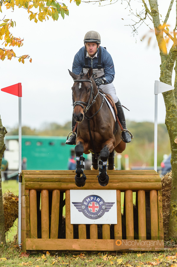 Angus Smales and GIDO G at Oasby Horse Trials
