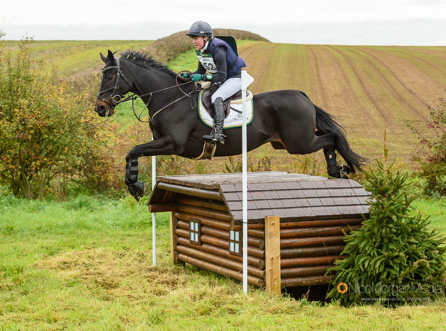 Eliza Stoddart and PRIORSPARK PRECOCIOUS at Oasby Horse Trials