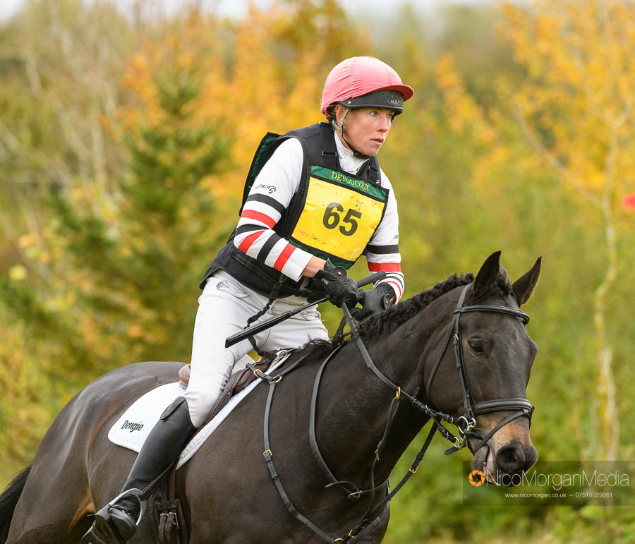 Lucy Jackson and DOD BUSTER RHYMES at Oasby Horse Trials