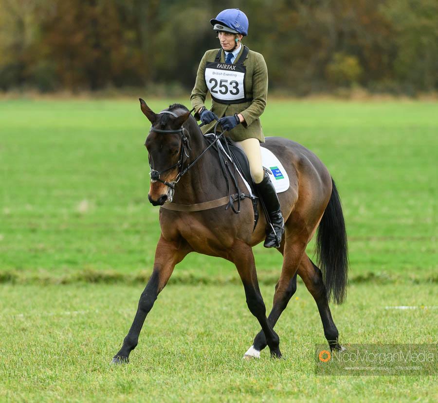 Sarah Wales and TRENEMAN at Oasby Horse Trials