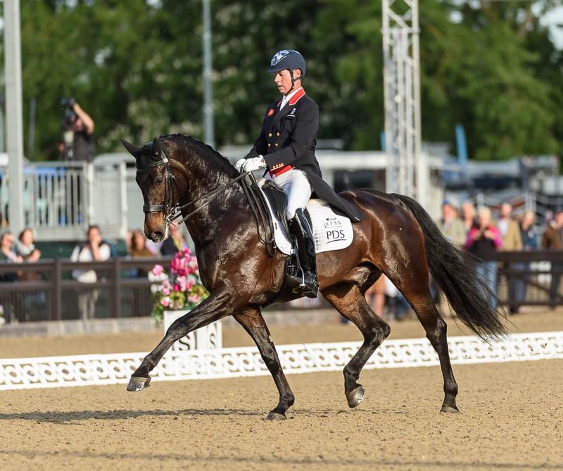 Carl Hester and HAWTINS DELICATO -  CDI4* Grand Prix Dressage